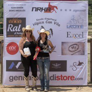 Miriam Perera Román, 1ª en Novice Horse Open Level 2