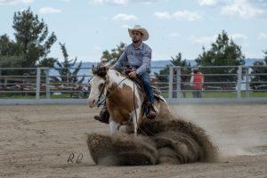 Adrián Zornoza & TK Blocka Tari Jet, 2º Novice Horse Non Pro Level 2