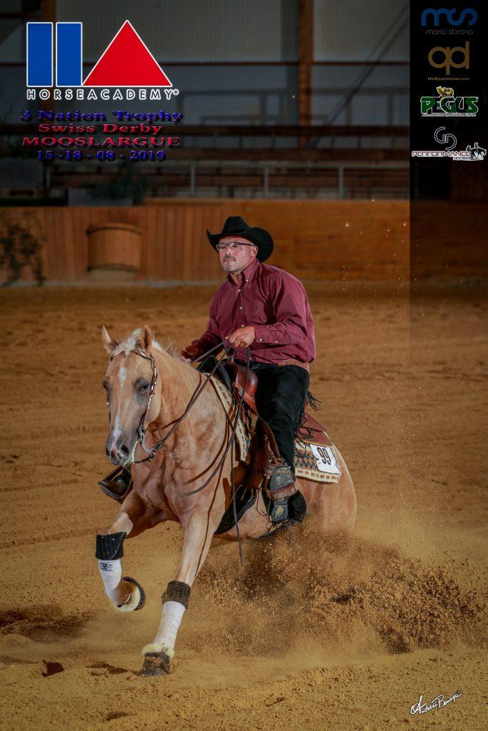Eugenio Latorre y ML Glory Days, 4º en el Swiss Derby 4-8 y Open Level 2 - 3000 $ added