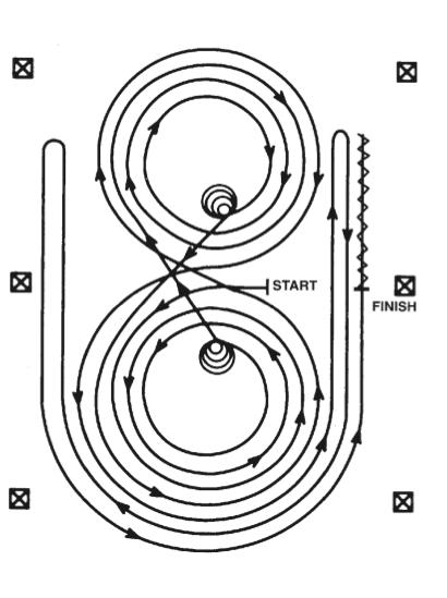 pattern 5 patron reining